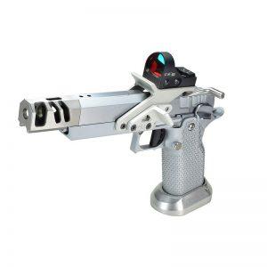 Akai Custom - Open Pistol - 9mm - Silver Chrome