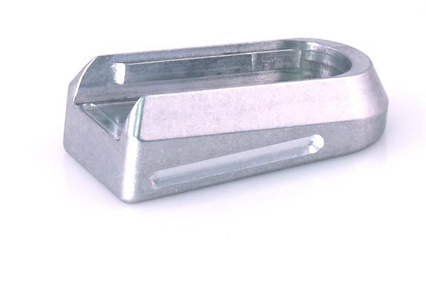 DP Basepad - DP, STI or Metalform 1911 45, Silver