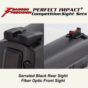 Dawson Precision Sig P320 Black Rear & Fiber Front