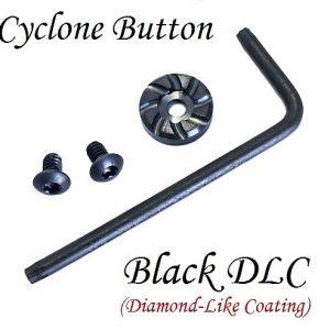 Brazos Custom Gunworks Cyclone Mag Button - Black