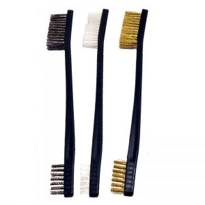 Double Alpha 3-piece Utility Brush Set