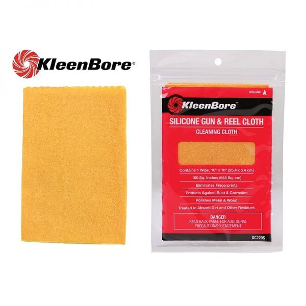 KleenBore Silicone Gun & Reel Cleaning Cloth