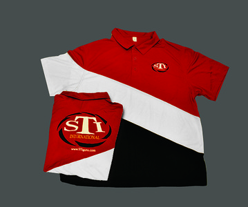 STI 2011 Team Polo Shirts