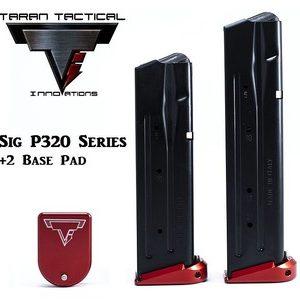 Taran Tactical Firepower Sig P320 9/40 +2 Base Pad