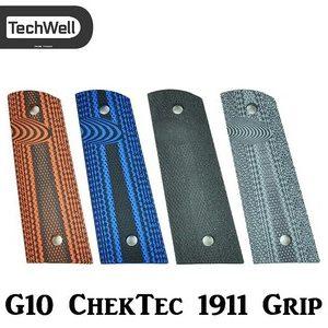 TechWell G10 ChekTec Aggressive 1911 Grip